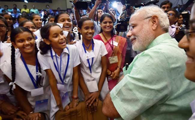 Image result for शिक्षा पर जोर विकास को गति मोदी