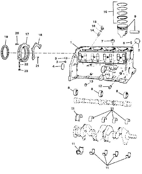 Mercruiser 470 3 7l Marine Engine