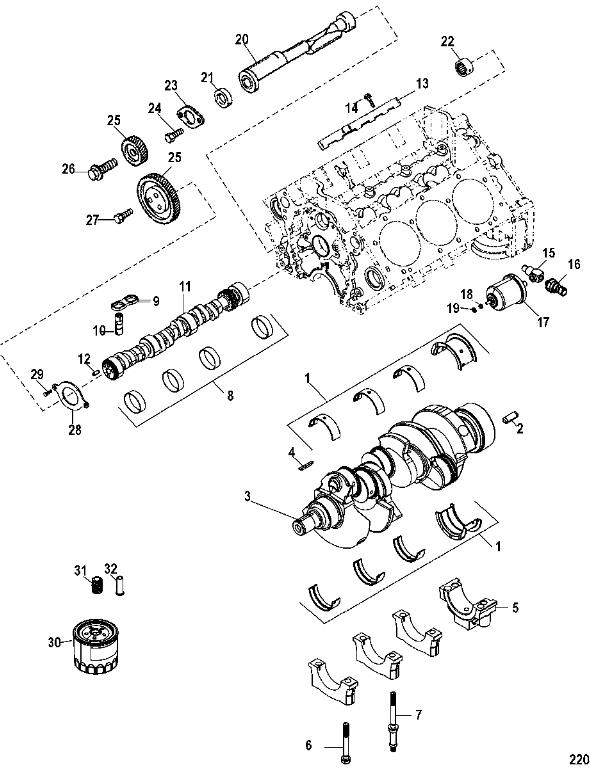 Mercruiser Parts Engines