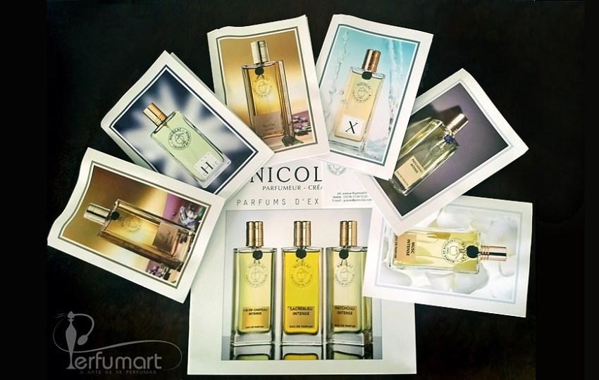 Perfumart - post recebimento Parfums de Nicolai