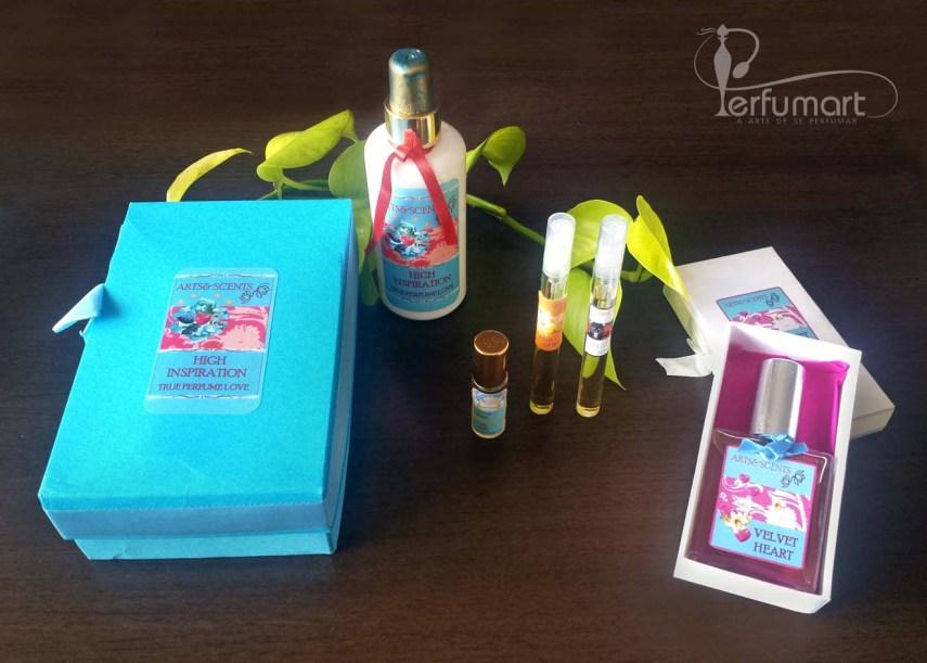 Perfumart - post recebimento Arts & Scents lote 2