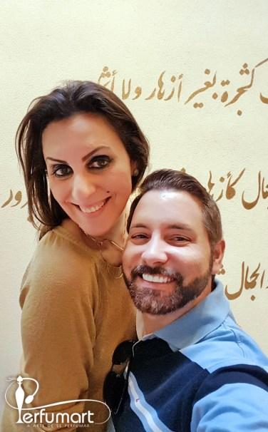 Perfumart - Post Al Zahra Eu e Julia