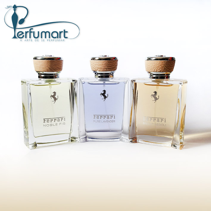 Perfumart - post sobre Ferrari Essence Collection Les Eaux
