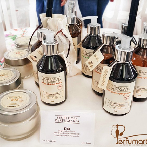 Perfumart - post Segredos de Perfumaria produtos