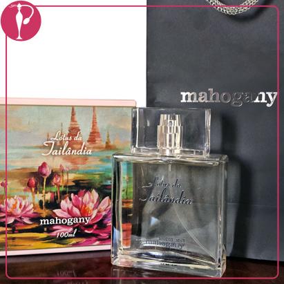 Perfumart - resenha do perfume Mahogany - Lótus Tailândia