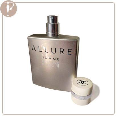 Perfumart - resenha do perfume chanel allure homme EDITION BLANCHE