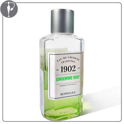 Perfumart - resenha do perfume Berdoues - 1902 Gingembre Vert