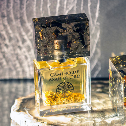 Perfumart - resenha do perfume Nadia Z - Camino de Azahar Oro Woman