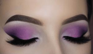 Purple Smokey Eye Makeup