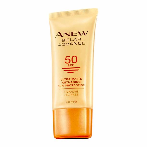 Anew Solar Advance Ultra Matte SPF50 Sun Protector by AVON