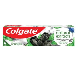 Pasta dental Colgate Natural Extracts Carbon 90gr