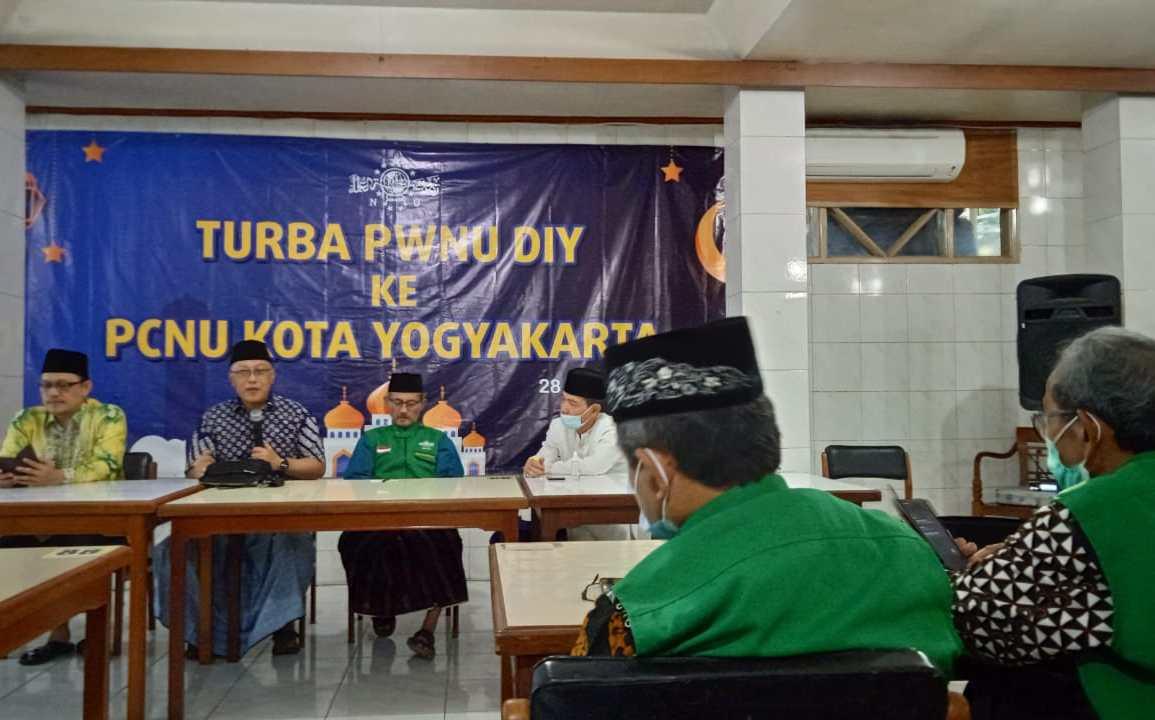 Turba PWNU di PCNU Kota Yogyakarta