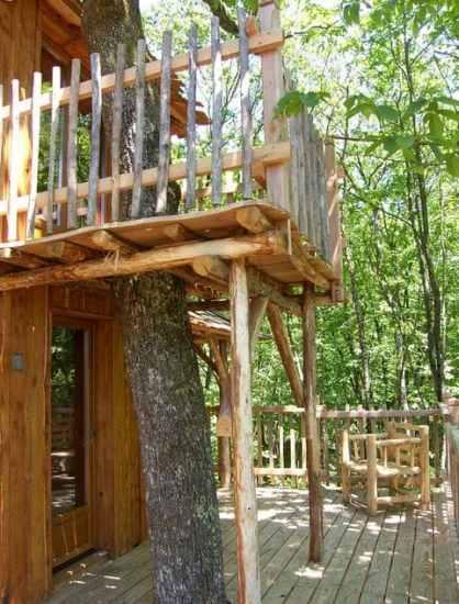 La cabane aux terrasses