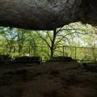 site troglodyte abris sous roche le conquil