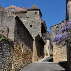 Villefranche du Périgord : ruelle