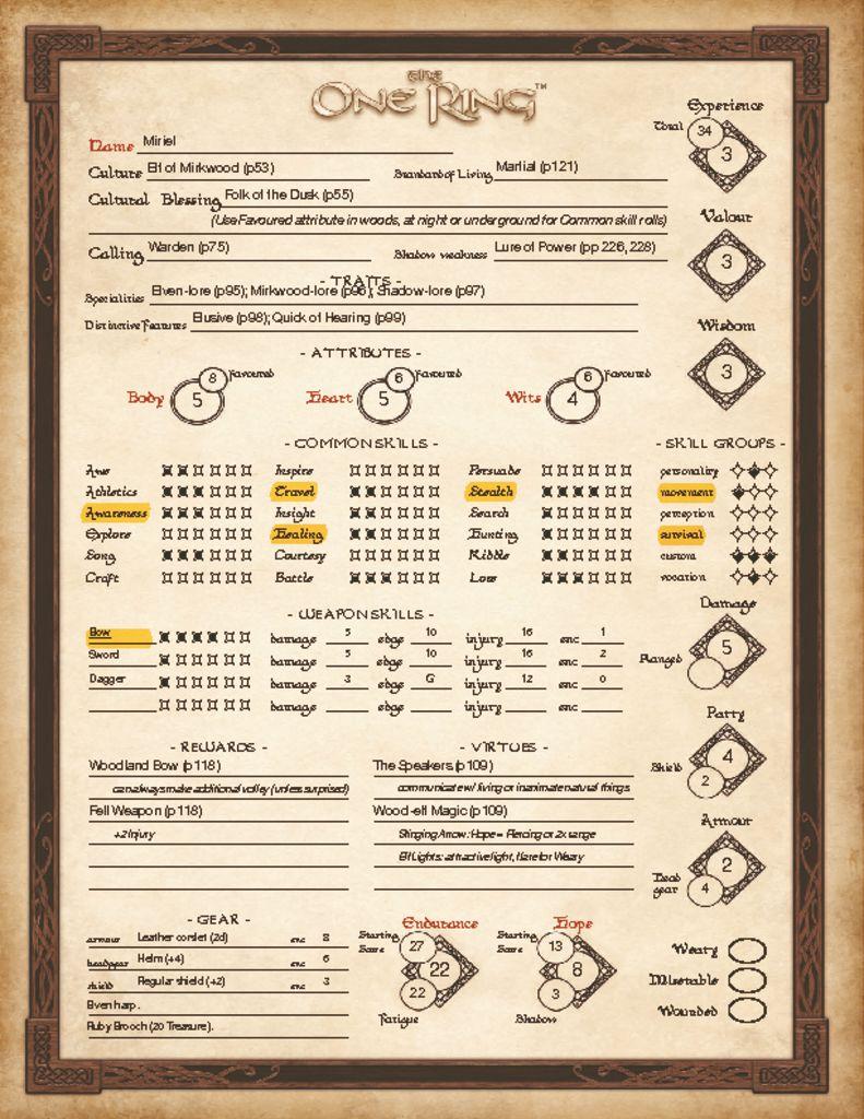 Miriel – Warden Elf of Mirkwood – Volume 3 Episode 4