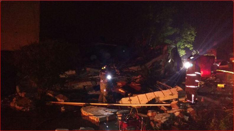 Explosión por gas LP en Tequisquiapan deja una persona muerta y dos heridas. Foto: @pcivilqro