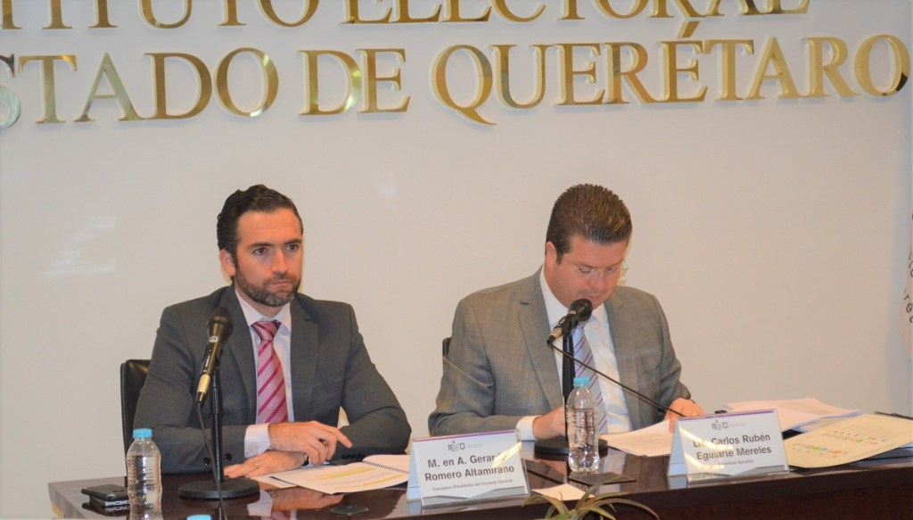 El Consejo General aprueba lineamientos del IEEQ para sesiones de cómputo para el proceso electoral 2017-2018