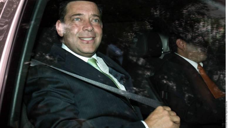 Detienen a Exgobernador priísta de Tamaulipas, Eugenio Hernández. Foto: El Siglo de Torreón