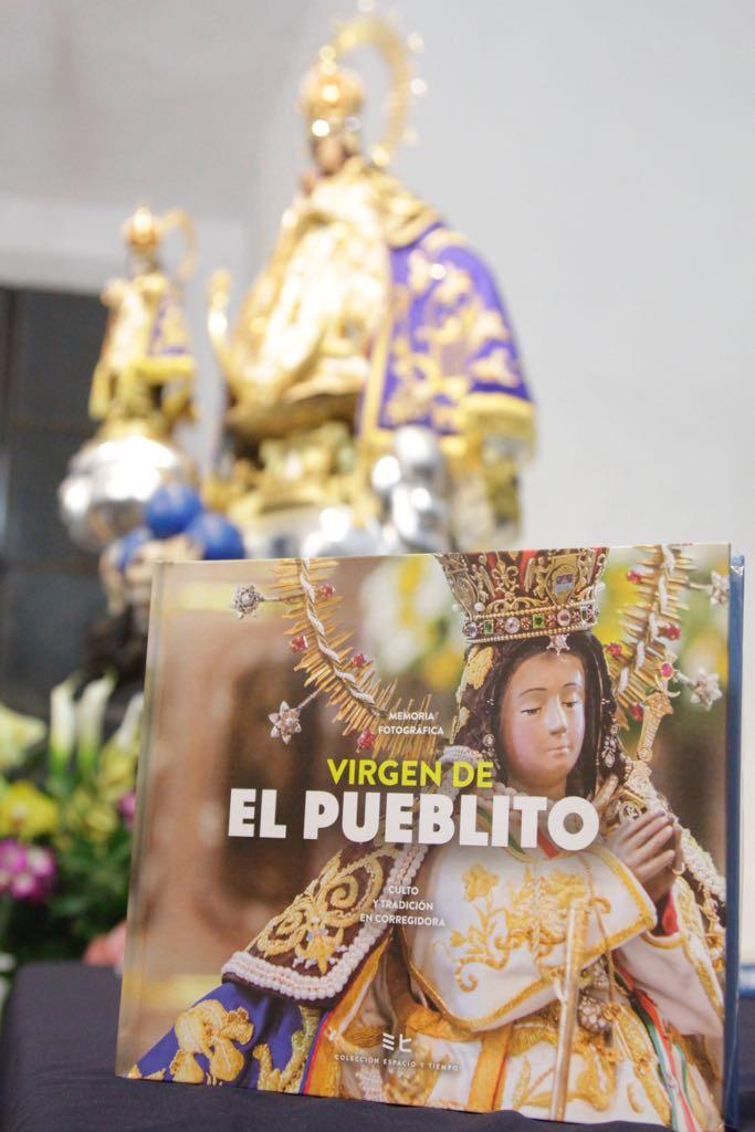 El libro presenta al público las imágenes más representativas de uno de los íconos distintivos de la demarcación, la Virgen de El Pueblito.