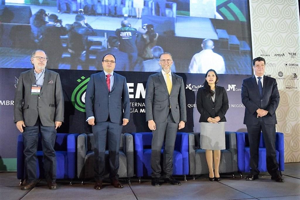 Querétaro es sede del ForoInternacional de Energía México (FIEM), evento inaugurado por el titular de la Secretaría de Desarrollo Sustentable (SEDESU), Marco Antonio Del Prete Tercero.