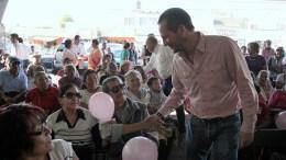 Líder del PRI en Querétaro toma protesta a la Titular de la Secretaría del Adulto Mayor