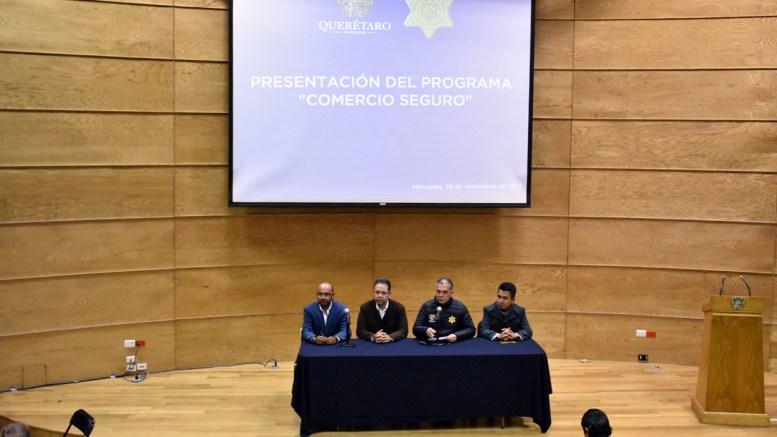 """Mediante el programa """"Comercio Seguro"""" instalarán 60 botones de auxilio en Querétaro Capital"""