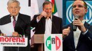 Arrancan precampañas; Anaya en Querétaro; Meade en Chiapas; AMLO en CDMX