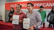 Juan Carlos Piña se registra como precandidato del PRI a la diputación local por el distrito X