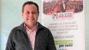 Braulio Guerra va por candidatura al Senado; presenta examen de conocimientos