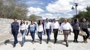 El Gobernador Francisco Domínguez entrega obras de infraestructura turística en Jalpan