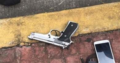 Policía Auxiliar frustra asalto a cuentahabiente en Uruapan; hay un detenido