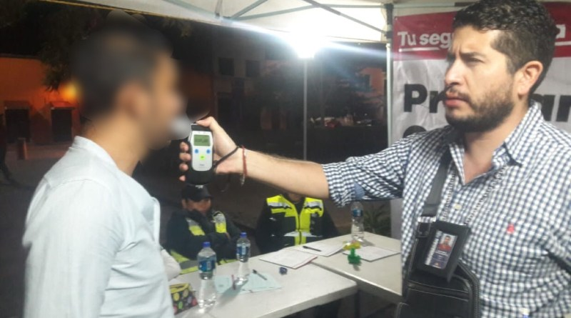 """Mantiene SSP el programa """"Conduce sin alcohol"""", en Morelia"""