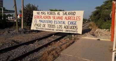De nueva cuenta CNTE bloquea vías férreas