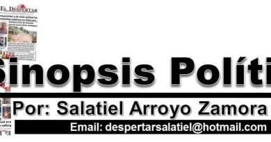 SINOPSIS POLITICA 28/03/2020
