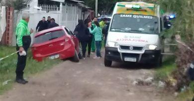 Salidera bancaria, secuestro, tiroteo y dos detenidos en Quilmes