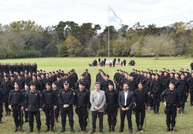 Vucetich: Egresaron 300 policías para la Unidad Táctica de Operaciones Inmediatas