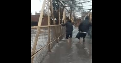 Inundacion en Quilmes