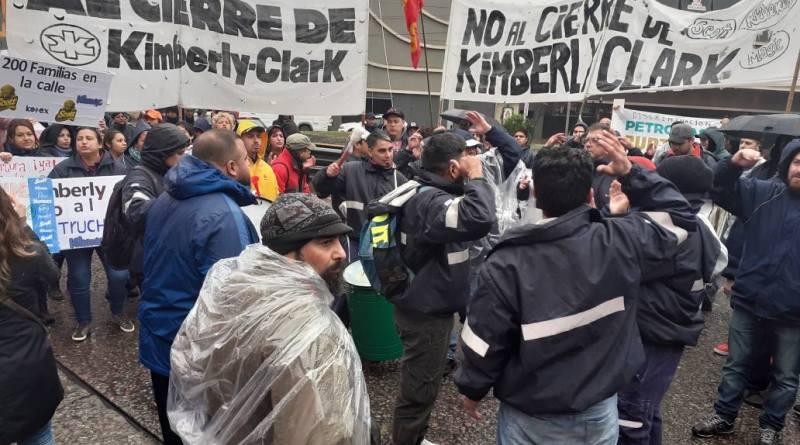 Protesta Kimberly Clark