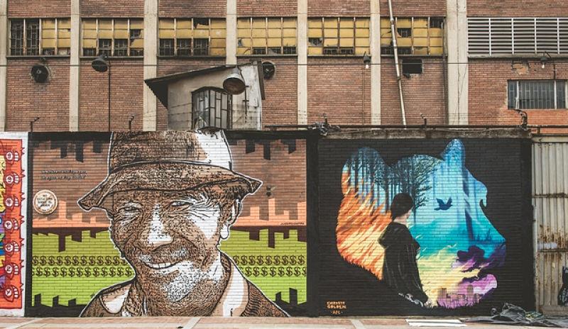 Bogotá se viste de color y creatividad con la II versión de Distrito Grafiti