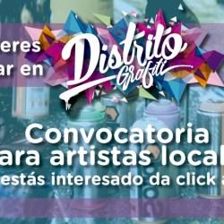 Distrito Grafiti convoca artistas locales