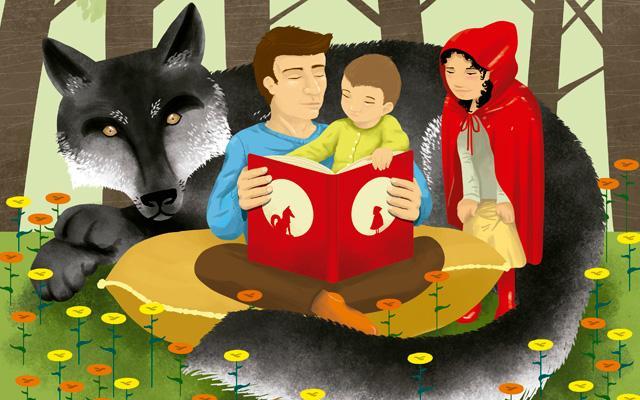 La hora del cuento: el placer de leer con los niños