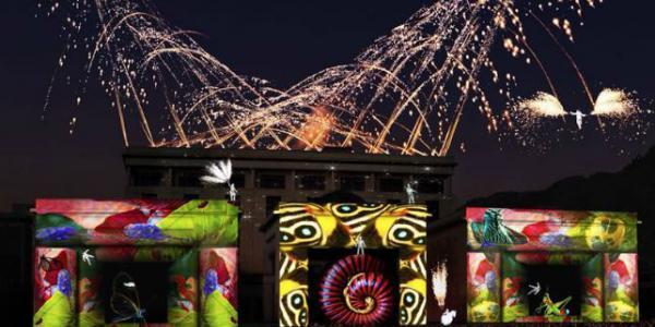 Travesía: un gran espectáculo de mapping, iluminación y música