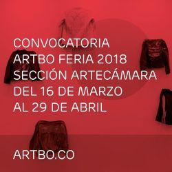 Convocatoria para hacer parte de la Sección Artecámara en #ARTBO2018
