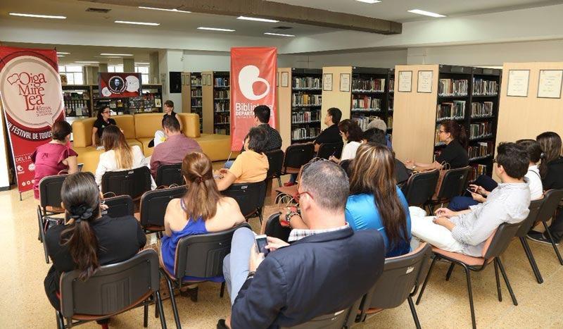 Vive la cuarta versión del Festival Internacional de Literatura 'Oiga, Mire, Lea'
