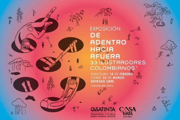 Exposición De adentro hacia afuera – ilustradores colombianos