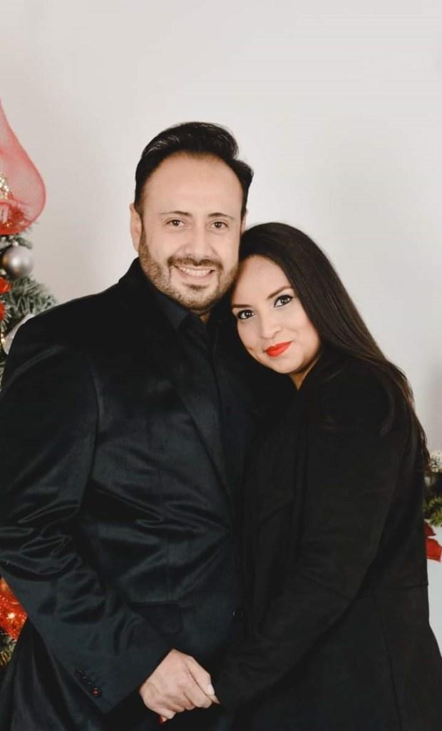 Eleazar López y Alicia Casco.
