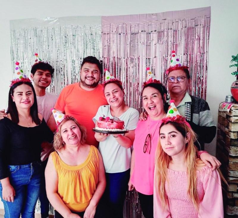 Cumpleaños de Doris García.