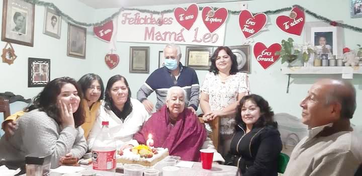 Doña Leo cumplió 86 años.