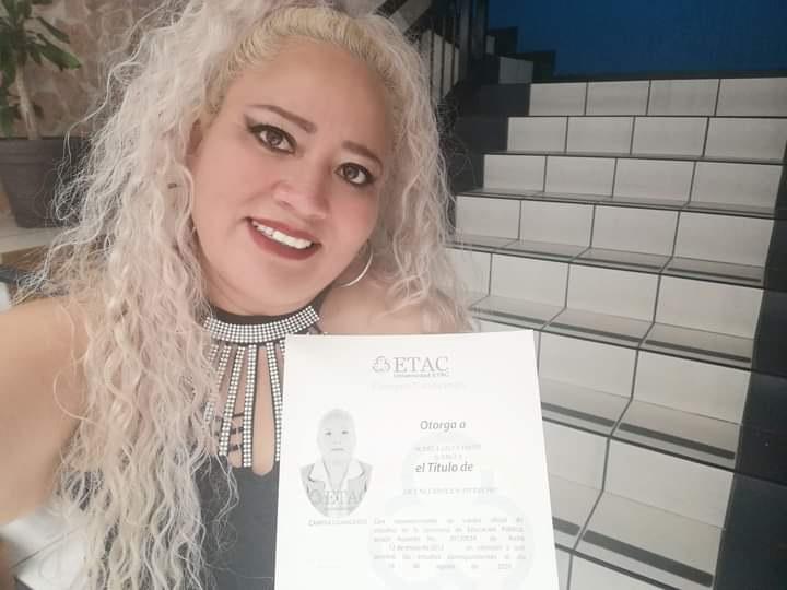 Felicidades María Lilia Ortiz García por ese gran logro.